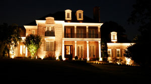 Residential Landscape Lighting Fauquier County Virginia